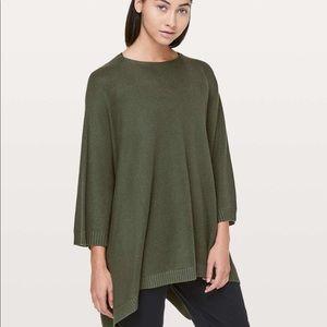 Lululemon Divinity Scarf Sweater OS